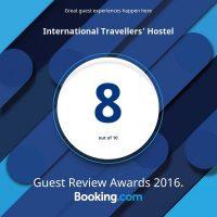 ITH Varanasi Awards & Accolades Booking.com Guest Review Awards 2016