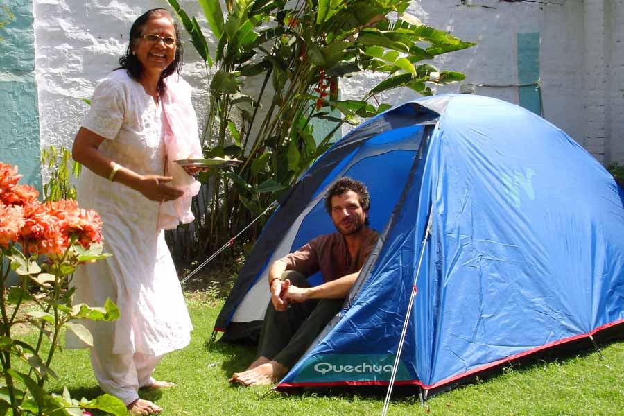 Varanasi Hostel Basic Tent for Camping