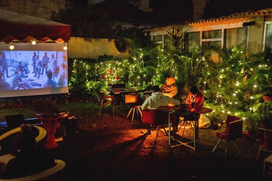 Movie Night with Campfire