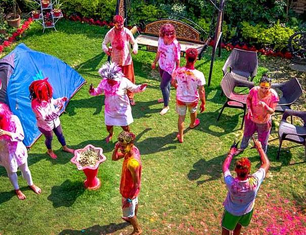 Celebrate Holi 2021 in Varanasi