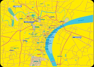 Varanasi Tourist Map Thumbnail