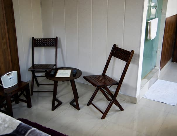 Superior Double Room – Seating Area