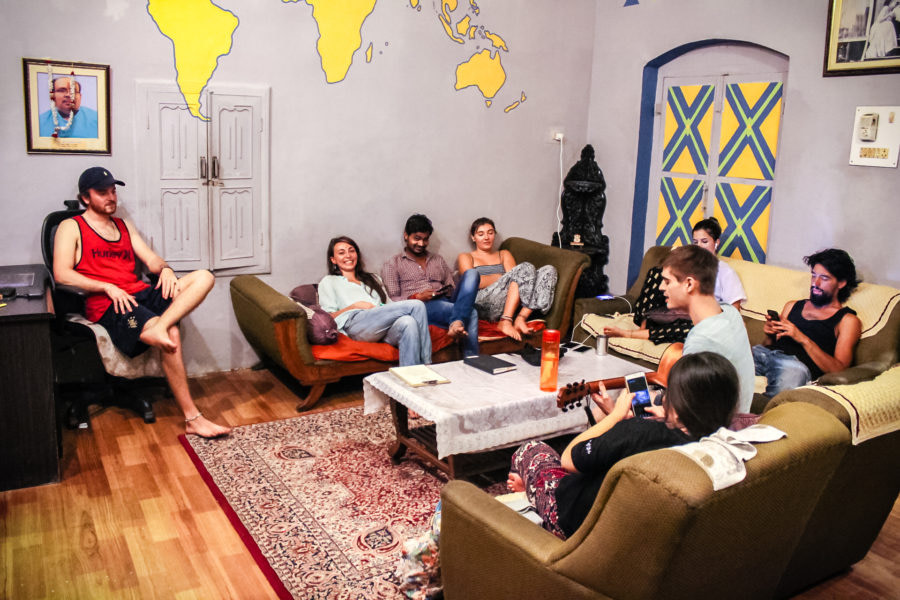 Guests Chilling in Common Room