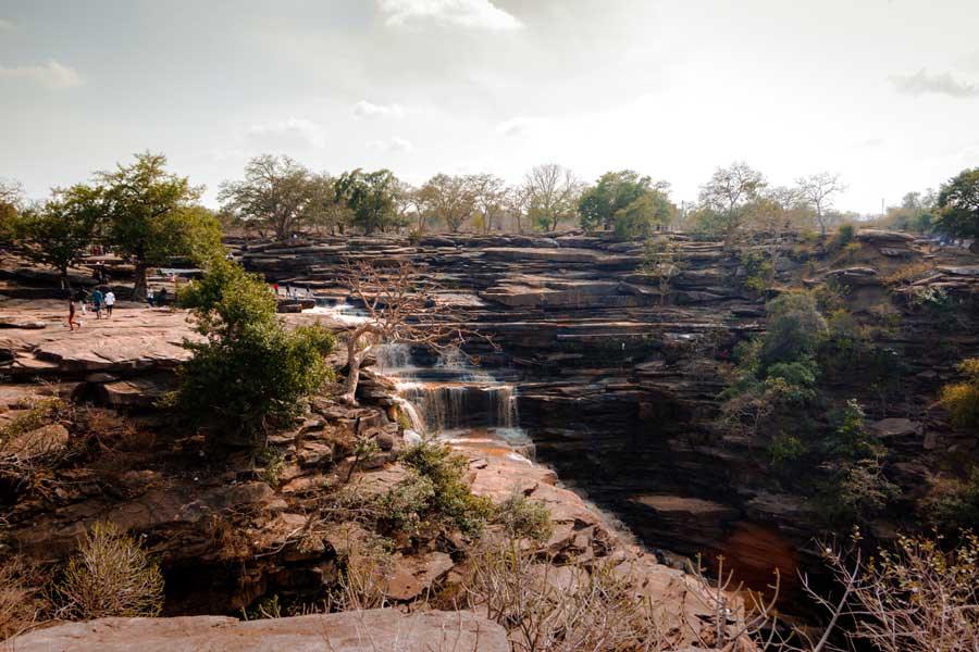 Staycation to Nirvana India Siddhnath Ki Dari Waterfall